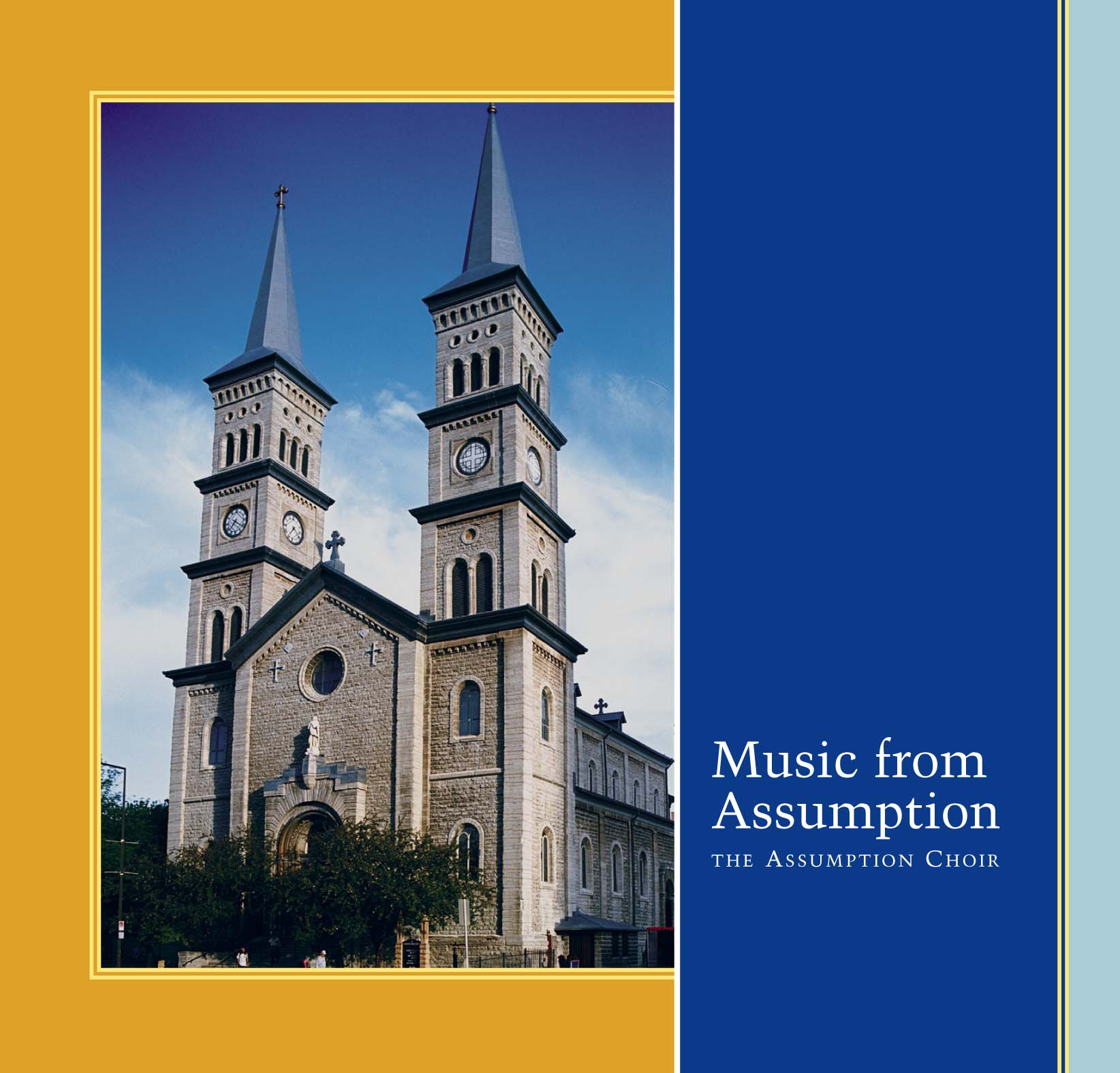 Music From Assumption CD cover